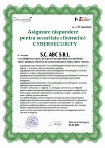 Asigurarea de Răspundere cibernetică CyberSecurity