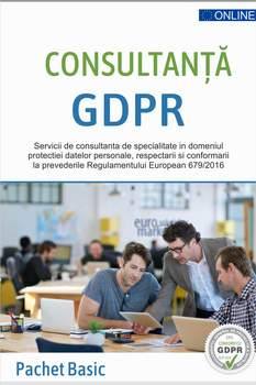 GDPR Basic - Pachet consultanta GDPR lunara
