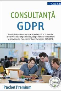 GDPR Premium - Pachet consultanta GDPR lunara