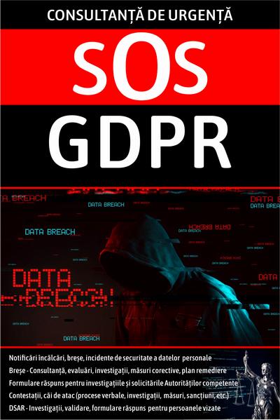 Consultanță de urgență tip SOS GDPR